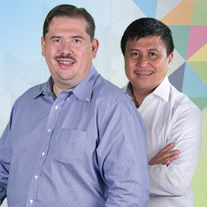 Joen De Las Peñas & Noel Arandilla will speak on 'The Secret on How to Let Money Work For You' at the Kerygma Conference 2016