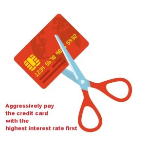 Cut up your credit cards!
